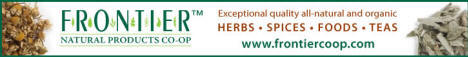Exceptional quality, all-natural and organic herbs, spices, foods and teas from Frontier